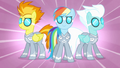 Rainbow and Wonderbolts with new outfits S4E10.png