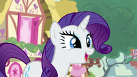 "Rarity ""wait until you hear who else will be a judge"" S7E9"