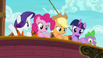 """Rarity """"waste a perfectly good hors d'oeuvre"""" S6E22"""