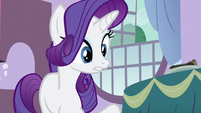 Rarity I mean breakfast S3E9