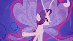 Rarity continuing to look at her wings S4E16