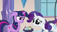 Rarity sad -something's gone terribly wrong- S03E12