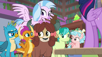 "Smolder ""tell us what's on tomorrow's test"" S8E22"