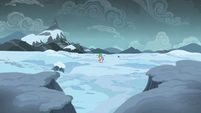 Spike alone in the Arctic Wastes S6E16
