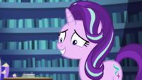 Starlight Glimmer looks regretful at Sunset EGS3