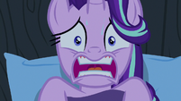 Starlight Glimmer wakes up in a sweat S6E25