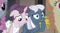 Sugar Belle and Night Glider feel sympathy S5E02