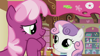 Sweetie Belle Hi Ms. Cheerilee S2E17