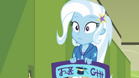 Trixie Lulamoon realizing her own admission EGFF