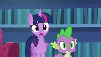 Twilight Sparkle --baking a cake freaks you out--- S6E21