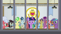 Twilight Sparkle behind bars S8E16