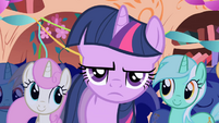Twilight annoyed by surprise party S1E01