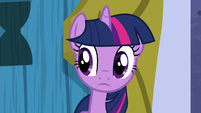 Twilight hears door opened S5E12
