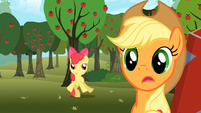 Apple Bloom getting dizzy S2E15