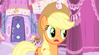 Applejack 'I'm too scared to guess' S4E13