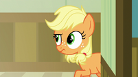 Applejack enters a different hopsital hallway S6E23