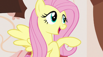 "Fluttershy ""about that tea party..."" S7E12"
