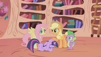 Fluttershy feels just awful S1E03