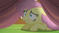 Fluttershy looking under the bed S5E21