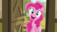 "Pinkie Pie ""hey cousin!"" S4E09"