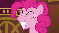 Pinkie Pie big smile S3E3