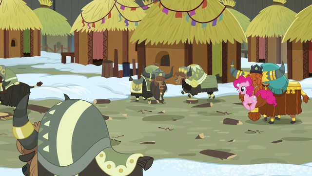 File:Pinkie and Rutherford joining the festivities S7E11.png