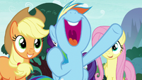 "Rainbow ""let's get going to Yakyakistan!"" S8E18"