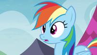 Rainbow Dash surprised S4E22