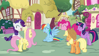 Rainbow and friends laughing S4E21