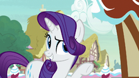 "Rarity ""a showcase for aspiring young designers"" S7E9"