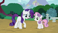 "Rarity ""what would a grown pony like you"" S7E6"