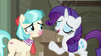 Rarity --I'm so glad to see you!-- S6E9