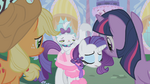 Rarity and Opal sad S01E14