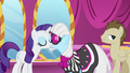 Rarity and Photo Finish blow air kisses at each other S7E9.png