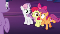 "Scootaloo ""did I mention we're glowing?!"" S8E6"