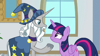 "Star Swirl ""it's best if you return there"" S8E16"