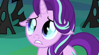 Thorax with a blue shimmer in his eyes S6E26