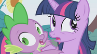 Twilight and Spike -we're...gonna...- S1E03