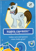 Wave 7 Barber Groomsby collector card