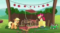 Applejack --now I've gotta start all over-- S6E14