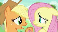 Applejack -see if you can get anythin'- S8E23
