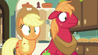 Applejack and Big Mac look shocked S9E10
