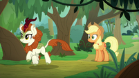 Autumn Blaze trots down the path S8E23