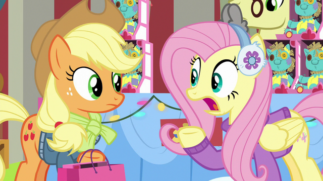 "File:Fluttershy ""must-have for everypony"" MLPBGE.png"