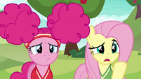 Fluttershy --you want us to play buckball-- S6E18