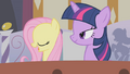 Fluttershy and Twilight in the bath S1E09.png