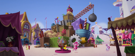 Giant pile of Pinkie's construction materials MLPTM
