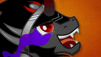 King Sombra looks at Crystal Heart hungrily BFHHS5
