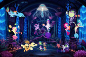 MLP The Movie Seaquestria panorama poster