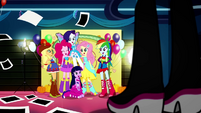 Mane Six laughing together at the Fall Formal SS2